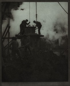 Alvin Langdon Coburn, New York, 1913; THE TUNNEL BUILDERS